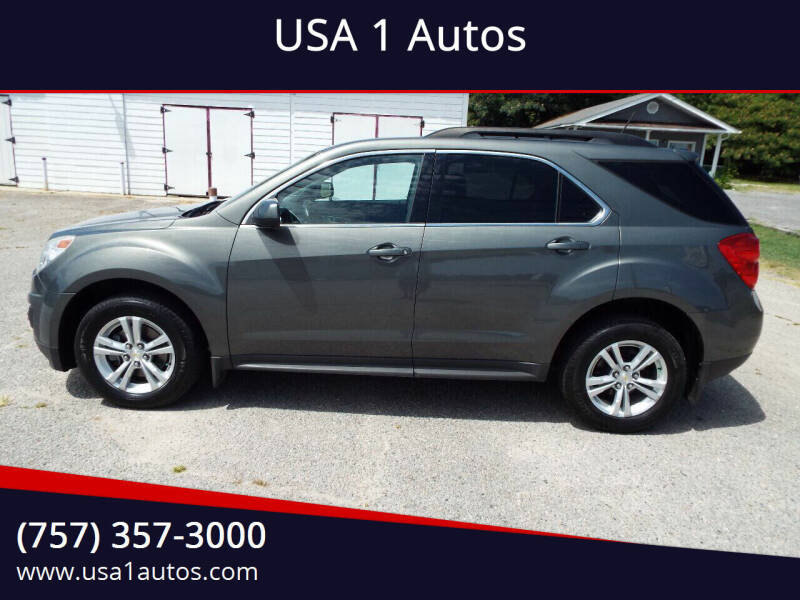 2013 Chevrolet Equinox for sale at USA 1 Autos in Smithfield VA