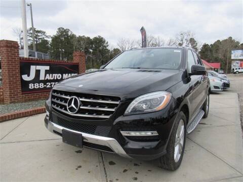 2013 Mercedes-Benz M-Class for sale at J T Auto Group in Sanford NC