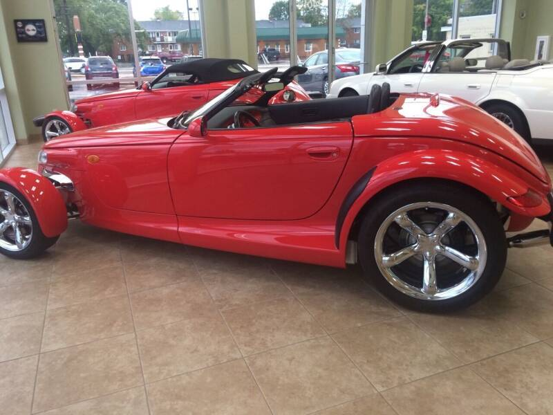 1999 Plymouth Prowler for sale at RABIDEAU'S AUTO MART in Green Bay WI