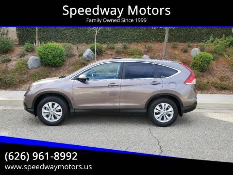 2012 Honda CR-V for sale at Speedway Motors in Glendora CA