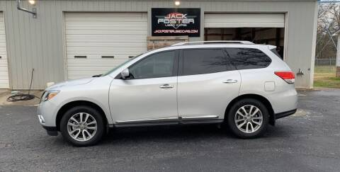 2015 Nissan Pathfinder for sale at Jack Foster Used Cars LLC in Honea Path SC