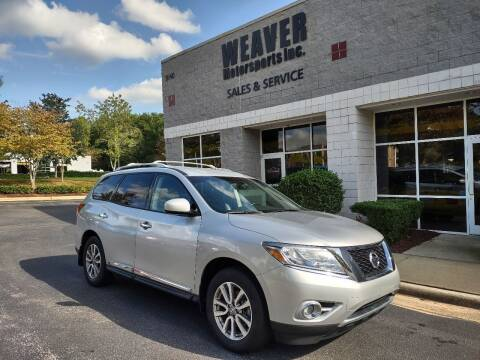 2014 Nissan Pathfinder for sale at Weaver Motorsports Inc in Cary NC