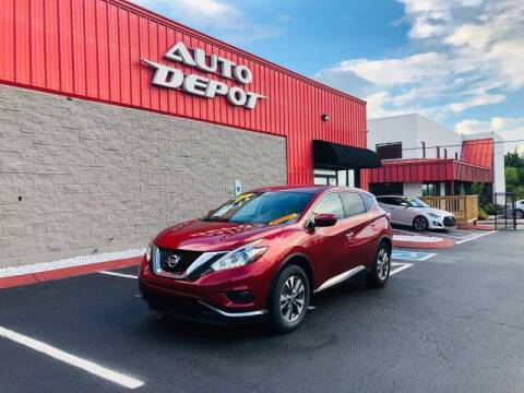 2017 Nissan Murano for sale at Auto Depot of Madison in Madison TN