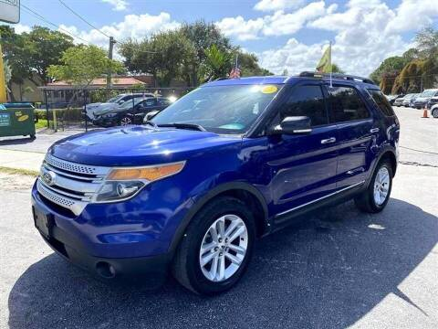 2013 Ford Explorer for sale at EZ Own Car Sales of Miami in Miami FL