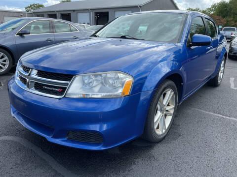 2012 Dodge Avenger for sale at Blake Hollenbeck Auto Sales in Greenville MI