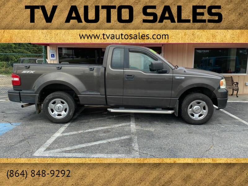 2005 Ford F-150 for sale at TV Auto Sales in Greer SC