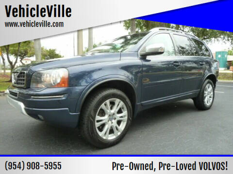 2013 Volvo XC90 for sale at VehicleVille in Fort Lauderdale FL
