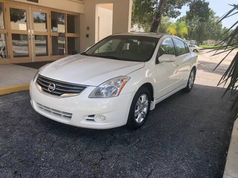 2012 Nissan Altima for sale at Unique Sport and Imports in Sarasota FL