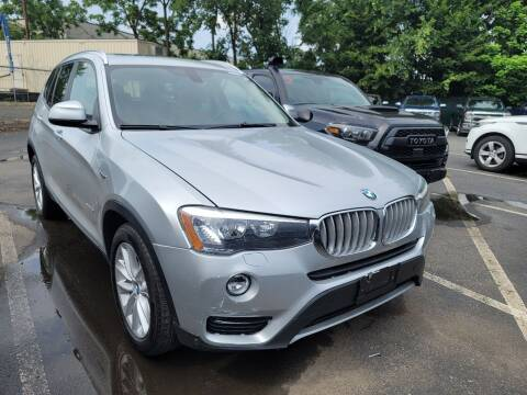 2016 BMW X3 for sale at AW Auto & Truck Wholesalers  Inc. in Hasbrouck Heights NJ