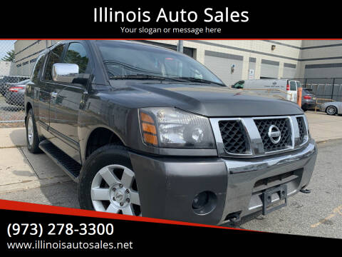 2004 Nissan Armada for sale at Illinois Auto Sales in Paterson NJ