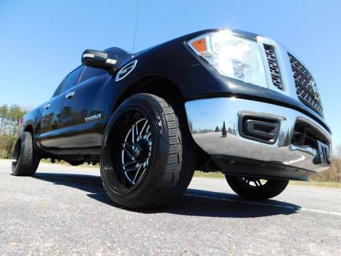 2017 Nissan Titan for sale at Used Cars For Sale in Kernersville NC