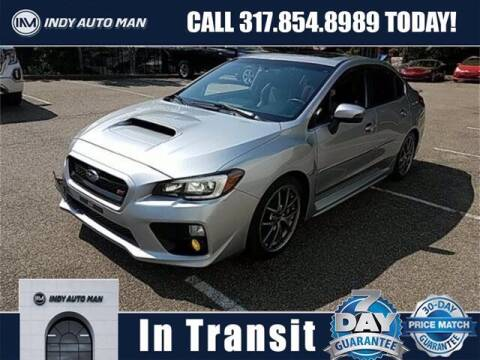 2017 Subaru WRX for sale at INDY AUTO MAN in Indianapolis IN