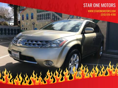 2006 Nissan Murano for sale at Star One Motors in Hayward CA