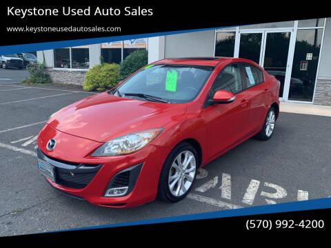 2010 Mazda MAZDA3 for sale at Keystone Used Auto Sales in Brodheadsville PA