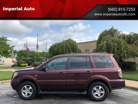 2007 Honda Pilot for sale at Imperial Auto, LLC in Marshall MO