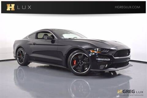 2019 Ford Mustang for sale at HGREG LUX EXCLUSIVE MOTORCARS in Pompano Beach FL