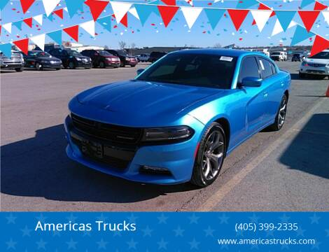 2015 Dodge Charger for sale at Americas Trucks in Jones OK