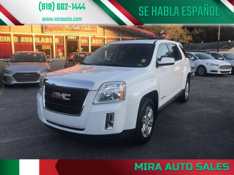 2014 GMC Terrain for sale at Mira Auto Sales in Raleigh NC