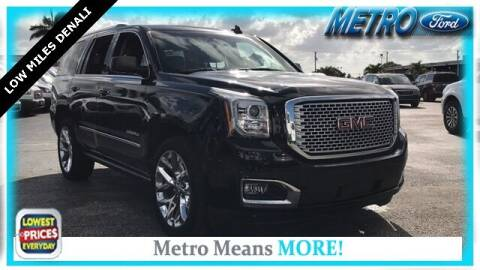 2016 GMC Yukon for sale at Your First Vehicle in Miami FL