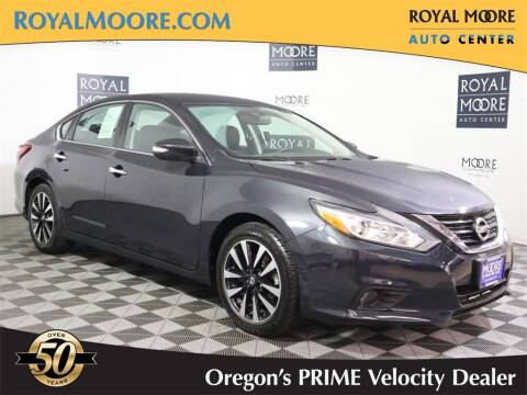 2018 Nissan Altima for sale at Royal Moore Custom Finance in Hillsboro OR