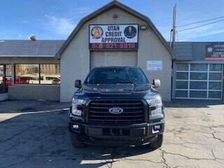 2015 Ford F-150 for sale at Utah Credit Approval Auto Sales in Murray UT