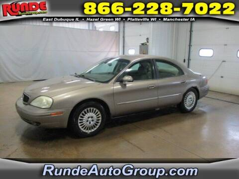 2002 Mercury Sable for sale at Runde PreDriven in Hazel Green WI