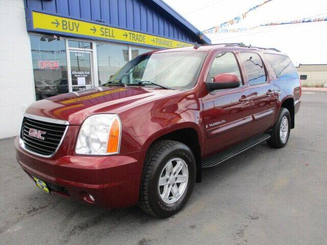2008 GMC Yukon XL for sale at Affordable Auto Rental & Sales in Spokane Valley WA