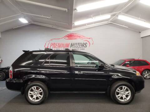 2005 Acura MDX for sale at Premium Motors in Villa Park IL