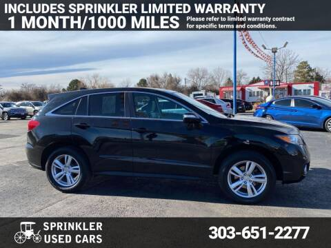 2015 Acura RDX for sale at Sprinkler Used Cars in Longmont CO