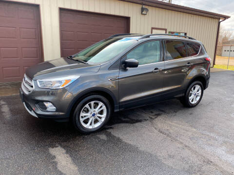 2018 Ford Escape for sale at Ryans Auto Sales in Muncie IN