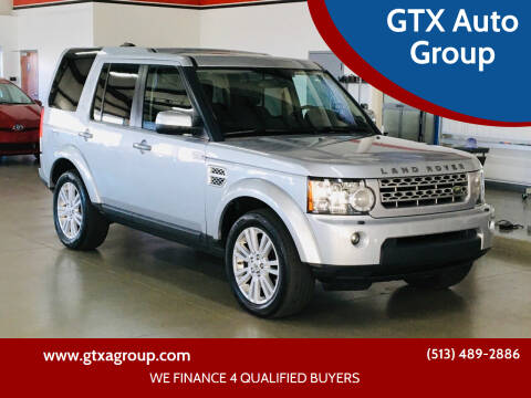 2010 Land Rover LR4 for sale at GTX Auto Group in West Chester OH