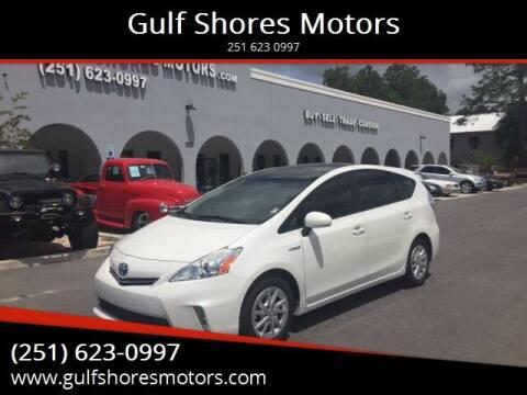 2014 Toyota Prius v for sale at Gulf Shores Motors in Gulf Shores AL
