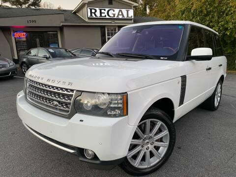 2011 Land Rover Range Rover for sale at Regal Auto Sales in Marietta GA