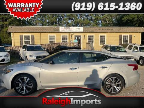 2017 Nissan Maxima for sale at Raleigh Imports in Raleigh NC