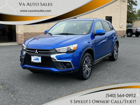 2018 Mitsubishi Outlander Sport for sale at Va Auto Sales in Harrisonburg VA