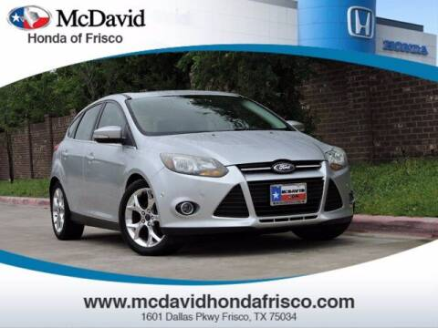 2014 Ford Focus for sale at DAVID McDAVID HONDA OF IRVING in Irving TX