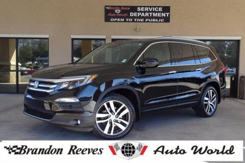 2016 Honda Pilot for sale at Brandon Reeves Auto World in Monroe NC