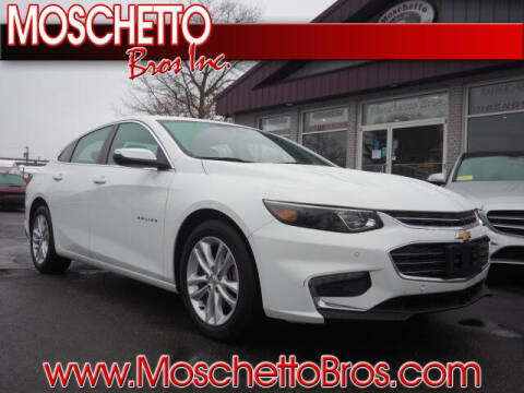 2018 Chevrolet Malibu for sale at Moschetto Bros. Inc in Methuen MA