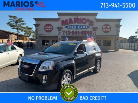 2013 GMC Terrain for sale at Mario's Used Cars in Houston TX
