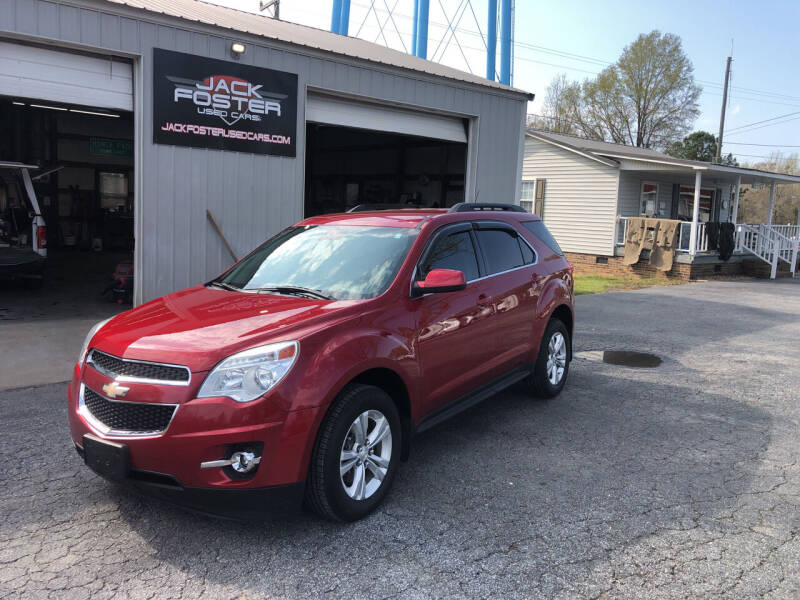 2014 Chevrolet Equinox for sale at Jack Foster Used Cars LLC in Honea Path SC