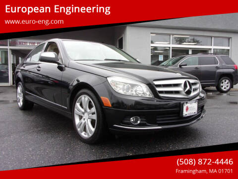 2009 Mercedes-Benz C-Class for sale at European Engineering in Framingham MA