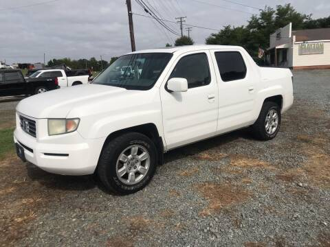 2007 Honda Ridgeline for sale at Clayton Auto Sales in Winston-Salem NC