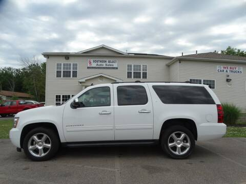 2013 Chevrolet Suburban for sale at SOUTHERN SELECT AUTO SALES in Medina OH
