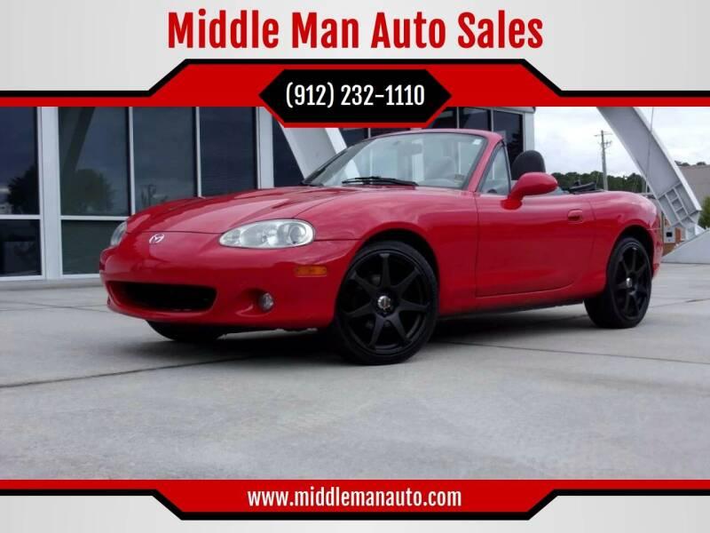 2001 Mazda MX-5 Miata for sale at Middle Man Auto Sales in Savannah GA