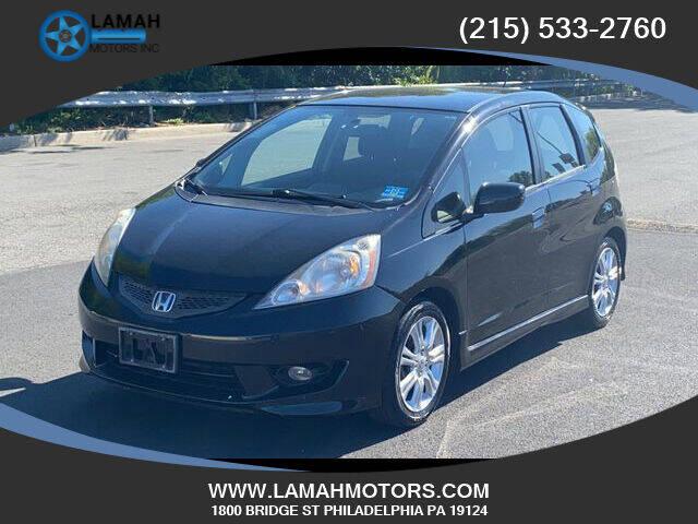 2011 Honda Fit for sale at LAMAH MOTORS INC in Philadelphia PA
