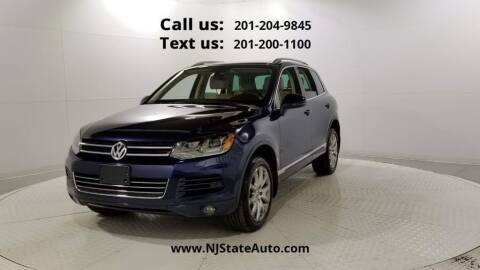 2012 Volkswagen Touareg for sale at NJ State Auto Used Cars in Jersey City NJ