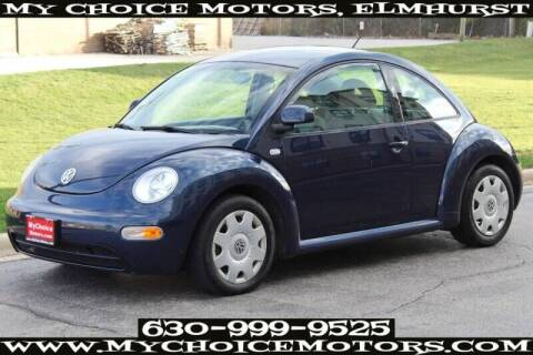 2000 Volkswagen New Beetle for sale at My Choice Motors Elmhurst in Elmhurst IL