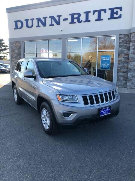 2016 Jeep Grand Cherokee for sale at Dunn-Rite Auto Group in Kilmarnock VA