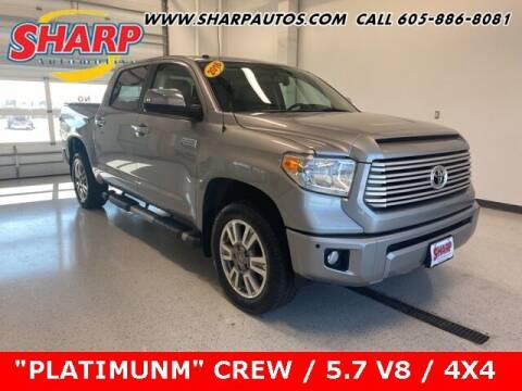 2016 Toyota Tundra for sale at Sharp Automotive in Watertown SD