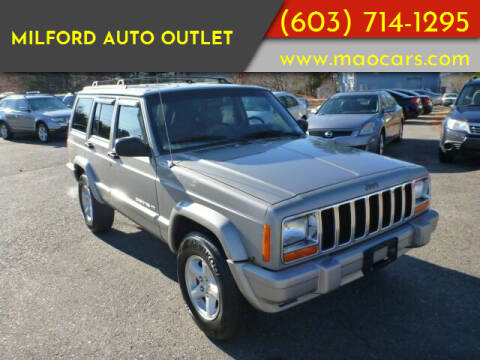 2000 Jeep Cherokee for sale at Milford Auto Outlet in Milford NH
